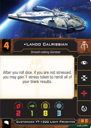 Lando Calrissian (Custom YT-1300)