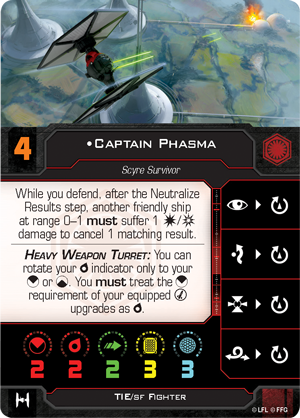 Captain Phasma (TIE/sf Fighter)