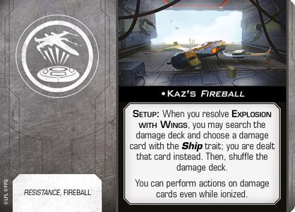 Kaz's Fireball