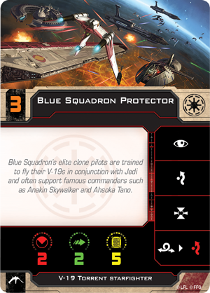 Blue Squadron Protector