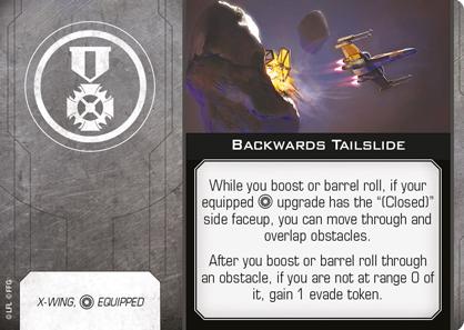 Backwards Tailslide