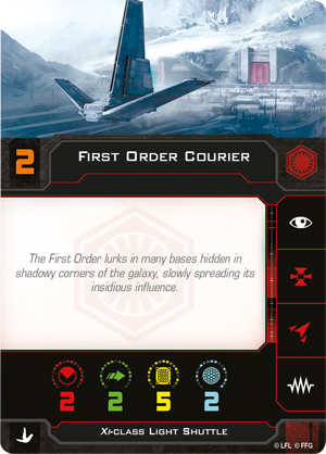 First Order Courier