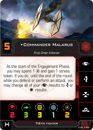 Commander Malarus (TIE/fo Fighter)