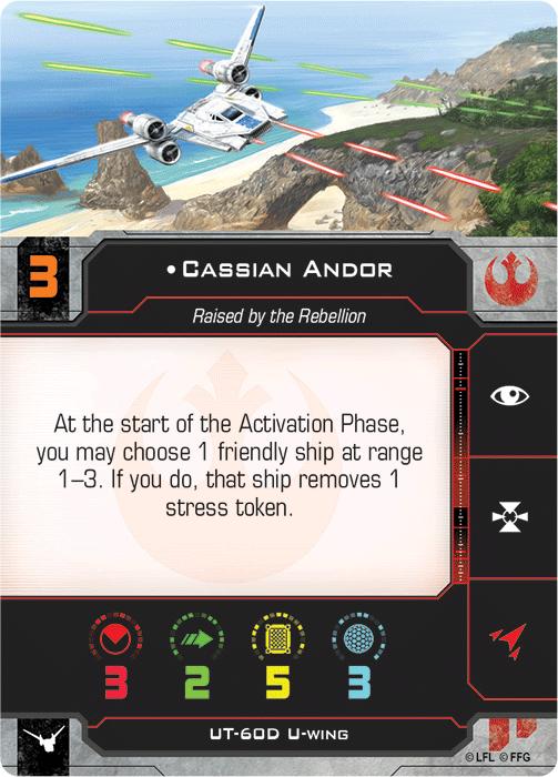 Cassian Andor (U-Wing)