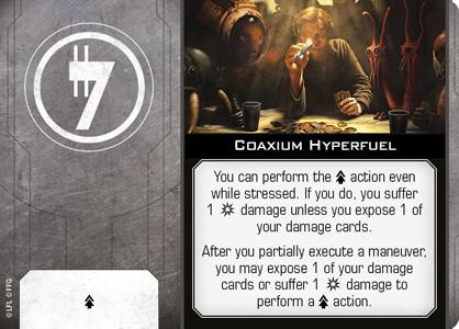 Coaxium Hyperfuel