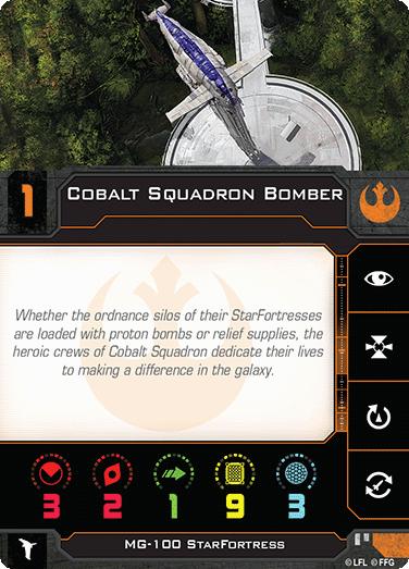 Cobalt Squadron Bomber