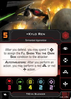 Kylo Ren (TIE Silencer)