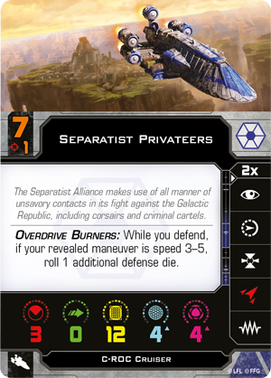 Separatist Privateers