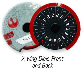 Galactic Empire Maneuver Dials Star Wars X-Wing 2nd Edition
