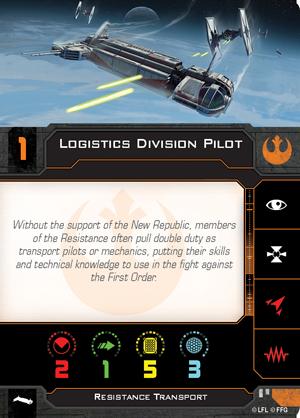 Logistics Division Pilot