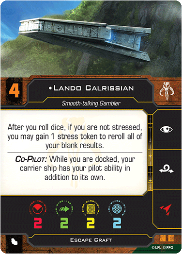 Lando Calrissian (Escape Craft)