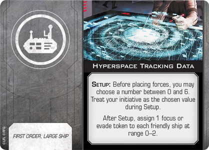Hyperspace Tracking Data