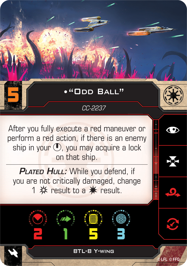 """""""Odd Ball"""" (BTL-B Y-Wing)"""