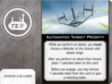 Automated Target Priority