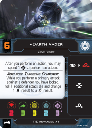 Darth Vader (TIE Advanced x1)