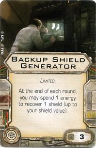 Backup Shield Generator