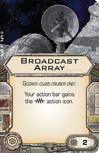 Broadcast Array