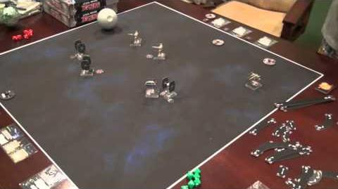 Star Wars X-Wing Example of Play