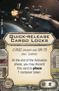 Quick-release Cargo Locks