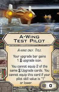 A-Wing Test Pilot