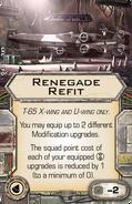 Upgrade renegade refit