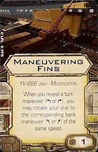 Maneuvering Fins