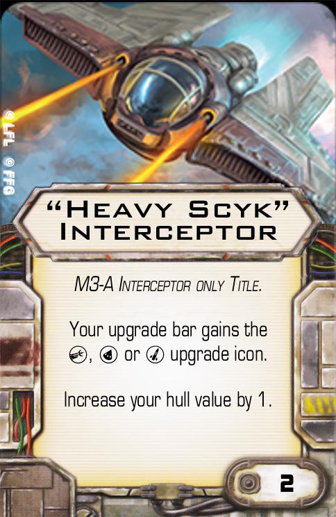 """""""Heavy Scyk"""" Interceptor"""