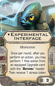 Experimental Interface