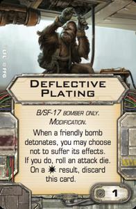 Deflective Plating