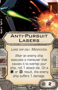 Anti-Pursuit Lasers