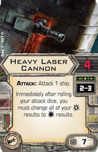 Heavy Laser Cannon