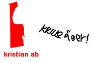 Kristian AB 2012 logo censored