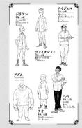 Volume 8 Gillian, Violet, Nigel, Pepe, Deo and Adam Profiles