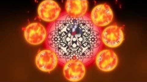 Sailor Moon Crystal - Sailor Mars Attack Burning Mandala