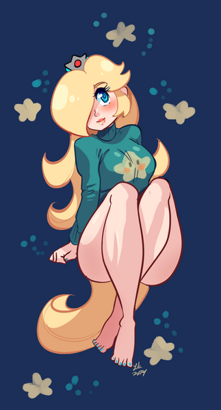 Small sweater bleh i hate feet so much by pineapplelicious-d7z539o