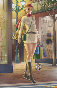 Cammy-White-goes-shopping-by shrouded artist