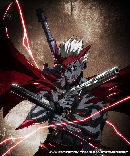 Devil trigger early concept by omniblade80-d5n6e0y