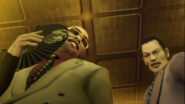 Yakuza 2 Sengoku ordering his men to spread one billion yen around Kamurocho