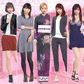 Sana, Tsukino, Amane, Nanami & Saori.jpg