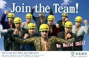 Majima Construction Ad