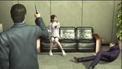 Arai shoots Shibata front of Yasuko.png