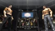 Majima vs Kiryu at underworld tourement