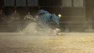Ryoma pinned down