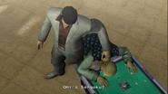 Yakuza 2 Kiryu beating up the informant