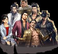 Ryu ga Gotoku Online Character Arts