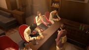 Kiryu,Yumi,Nishiki and Reina having fun chatting.png