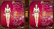 Isobe hostess level 1 and 40 comparison