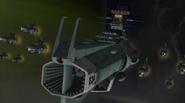 Dreadnought Saturn forward closeup