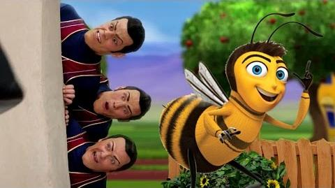 We Are Number One but the lyrics have been replaced with the Bee Movie script