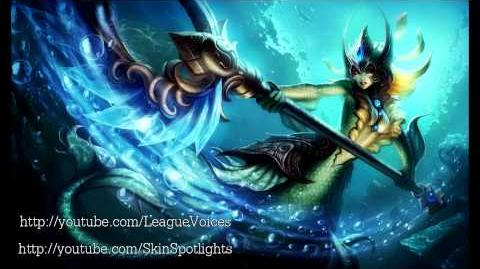 Nami Voice - English - League of Legends